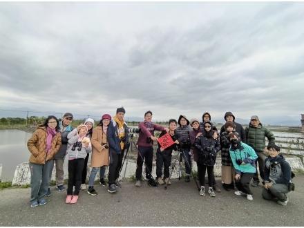 冬季水田賞鳥活動合照